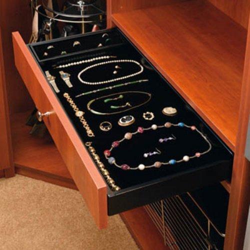 Rev-A-Shelf RCVJD-2414UM-1 24 in. Undermount Jewelry Drawer