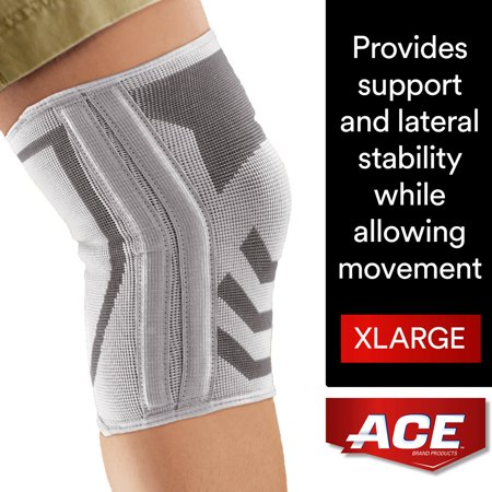 Ace Brand Compression Knee Brace With Side Stabilizers
