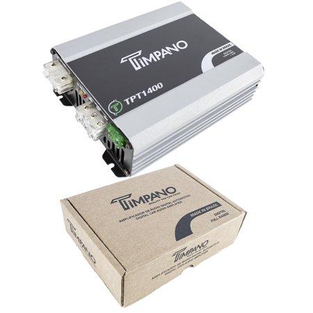 1400W Digital Micro Mono Block Amplifier 1ohm Mini Car Audio Amp Timpano