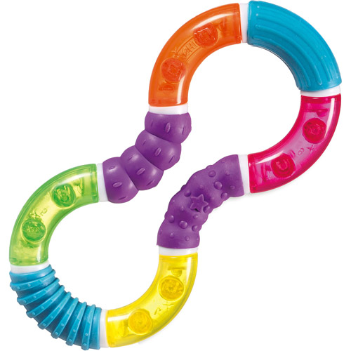 Munchkin Twisty Figure-8 Teether Toy, BPA-Free