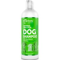 Zesty Paws Anti Itch Dog Skin & Coat Wash with Oatmeal & Aloe Vera, 16 Oz