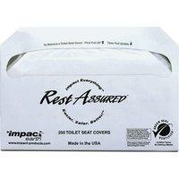 Impact Products, IMP25130873, Toilet Seat Covers, 1000 / Carton, White