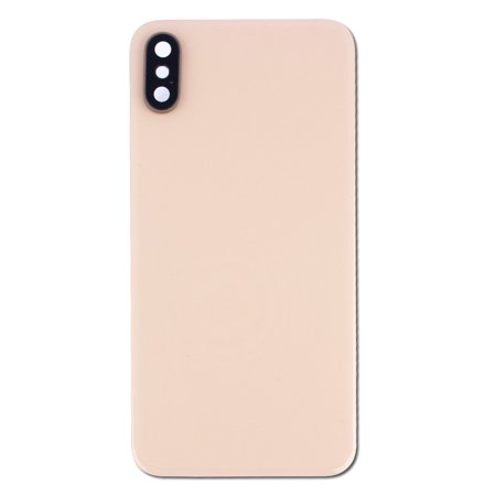 Replacement Back Glass Housing with Camera Lens for Gold Apple iPhone XS A1920, A2097, A2098, A2100 (5.8