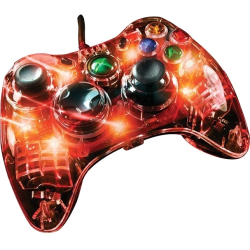 PDP - Microsoft Afterglow  Wired  Controller for Xbox 360 - Red