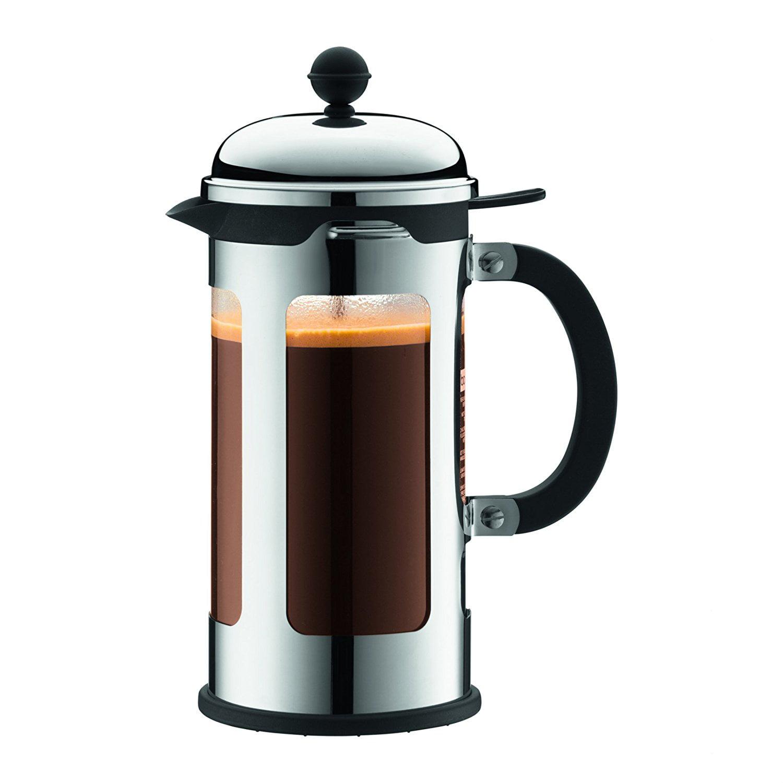 Chambord French Press Coffee Maker , 34 Oz., Chrome