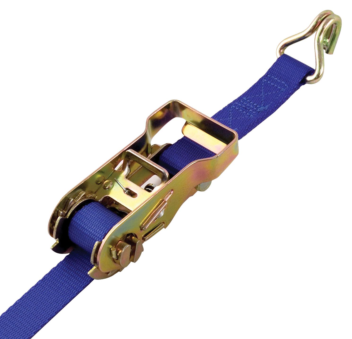 Pro Grip 043118 16' Open Zinc Plated Handle Ratchet Tie Down