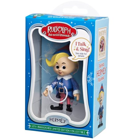 Rudolph's 50th Anniversary Limited Edition Collectible- Hermey Limited Edition Collectible Plate