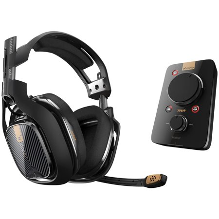 Astro A40 TR Headset + MixAmp Pro TR - Stereo - Mini-phone - (Refurbished)