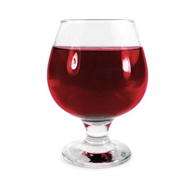 Tuff Luv M130 Original Cognac & Brandy Snifter Glass Glasses, 390 ml by Tuff Luv