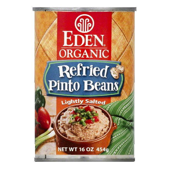 Eden Refried Pinto Beans, 16 OZ (Pack of 12)