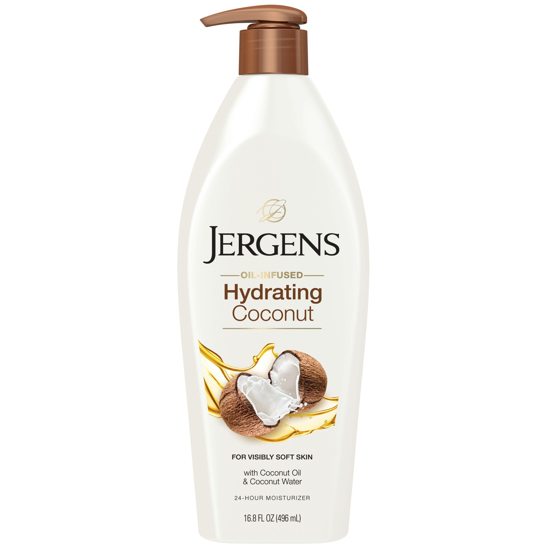 Jergens Hydrating Coconut Dry Skin Moisturizer 16.8 fl. oz. - Walmart.com