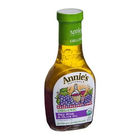Annie's Vinaigrette, Red Wine & Olive Oil, 8 FL OZ (Pack of (Best Olive Oil Vinaigrette Dressing)
