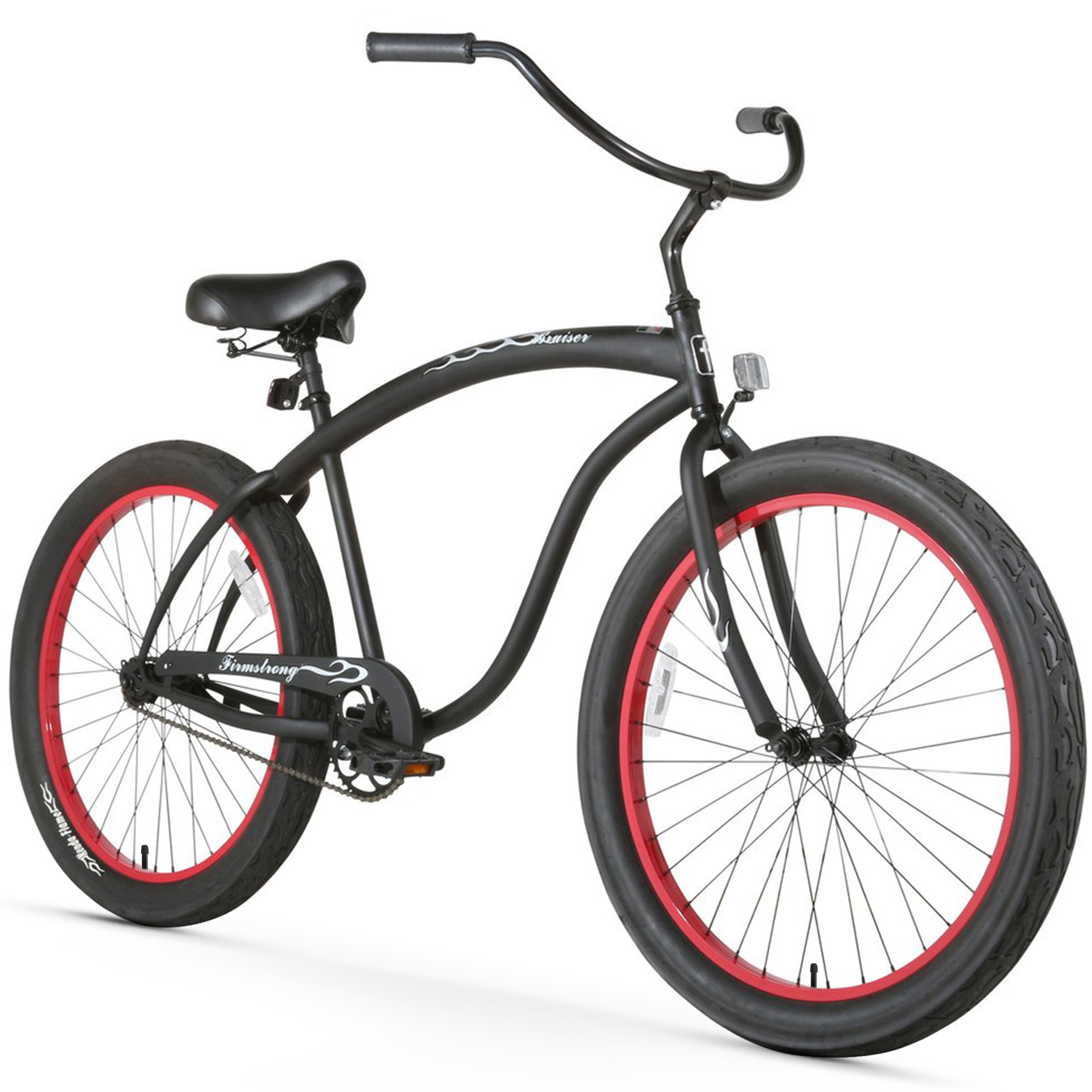 "Firmstrong 26"" Bruiser 3.0 Beach Cruiser Bicycle, 1 Speed"