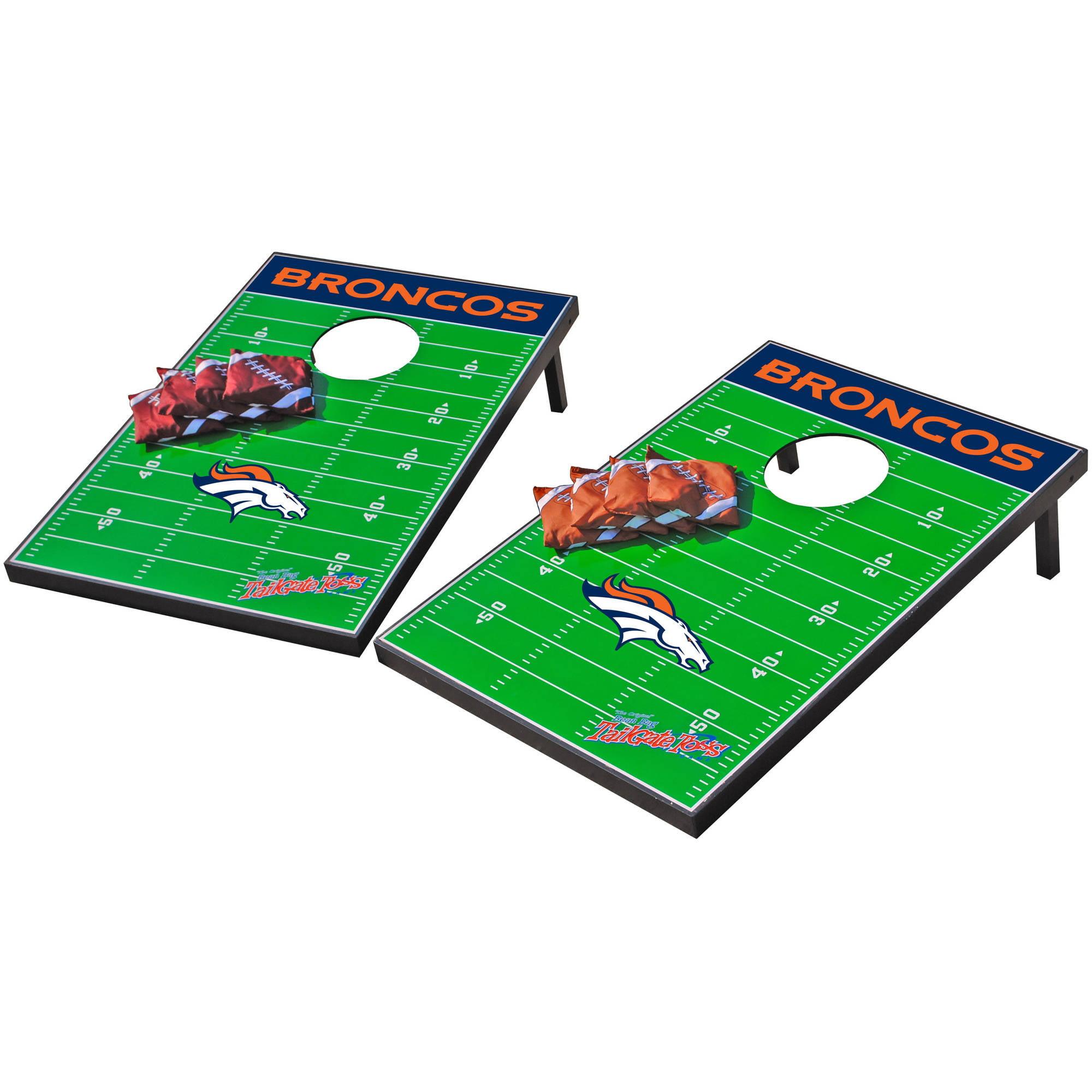 Wild Sports NFL Denver Broncos 2x3 Field Tailgate Toss by Wild Sports