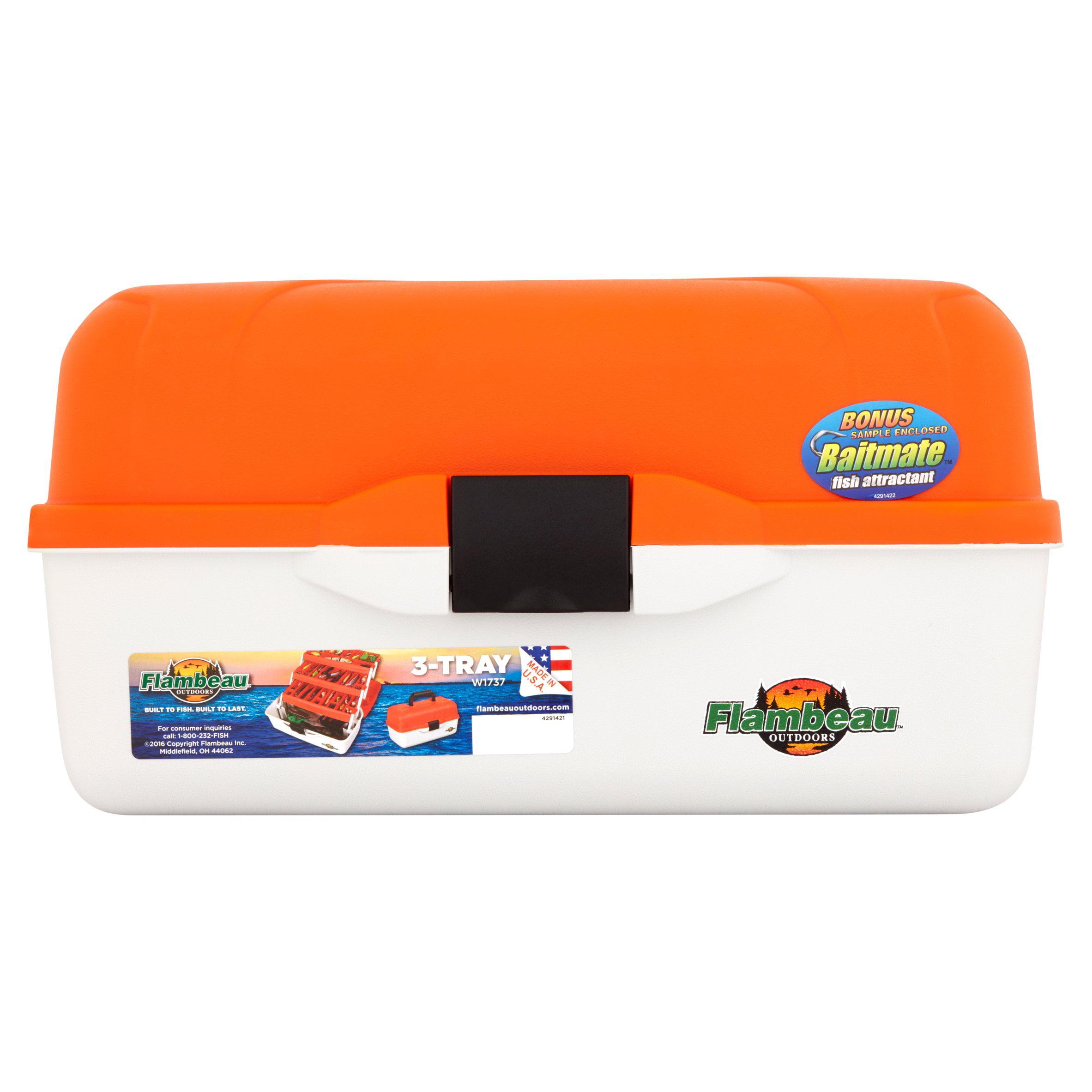 Flambeau Classic 3-Tray Tackle Box by Flambeau Inc.