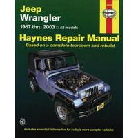 Jeep Wrangler Automotive Repair Manual : 1987-2003 All Models