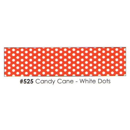 Candy Cane - White Dots 3 Strips Edible Frosting Photo Cake Border Decoration](Candy Photos)