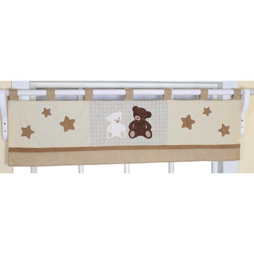 Teddy Bear Valance Nursery Window Treatment by GEENNY