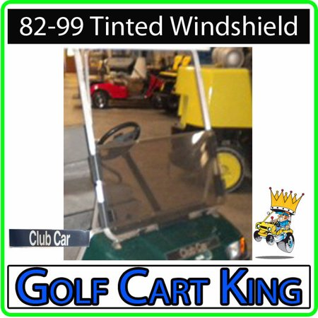 Club Car DS Golf Cart (Tinted) Folding Flip Impact Modified Windshield