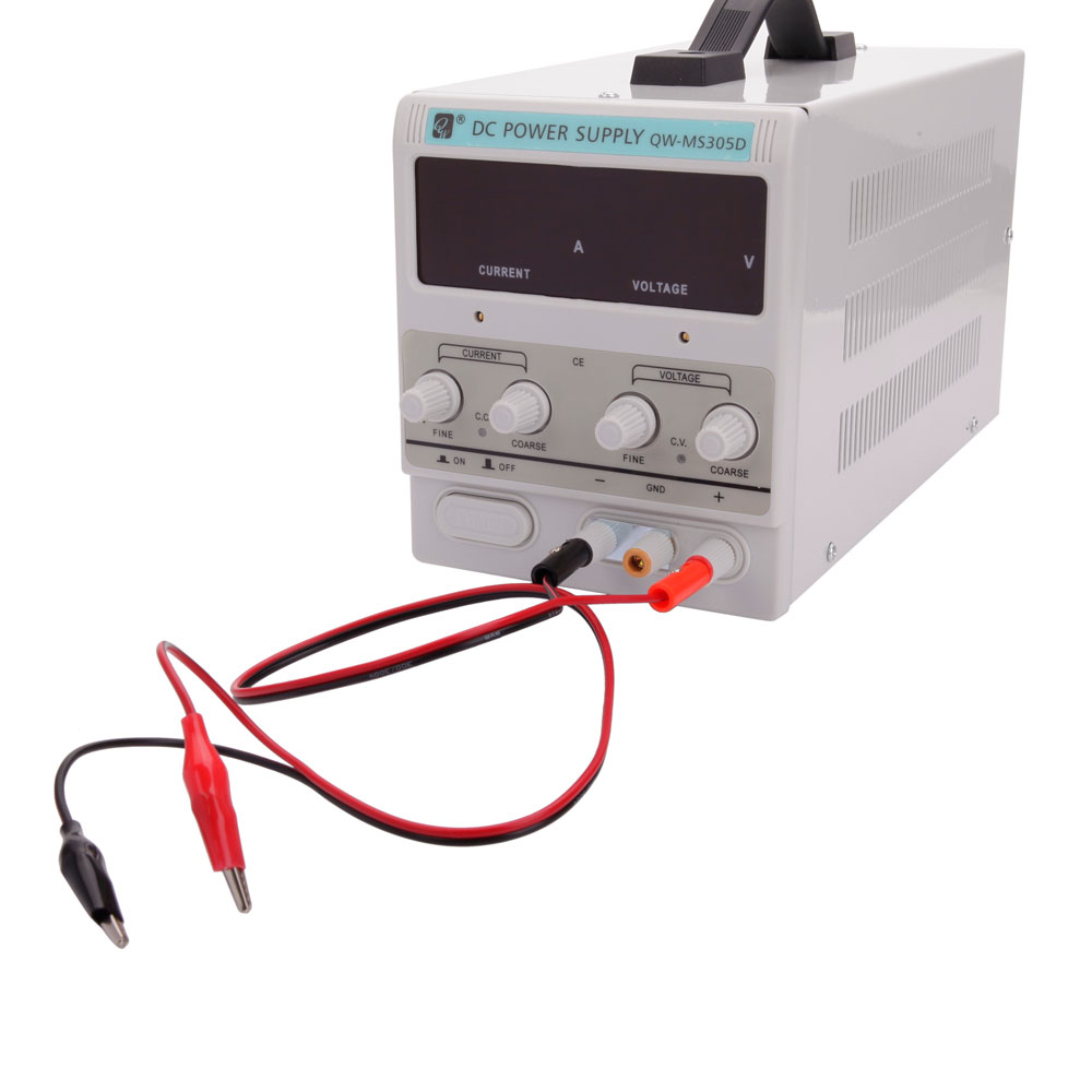 Zimtown 5A 30V DC Power Supply | Adjustable Digital Precision Variable | Lab Grade   W/ Clip Cable 110V