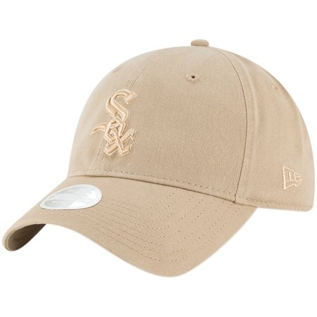 Chicago White Sox New Era Women's Core Classic Twill 9TWENTY Camel Adjustable Hat - Brown - OSFA](Camel Hat)