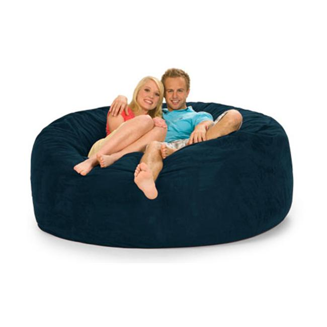 RelaxSacks 6DM-MS007 6 ft. Round Relax Sack - Microsuede Olive
