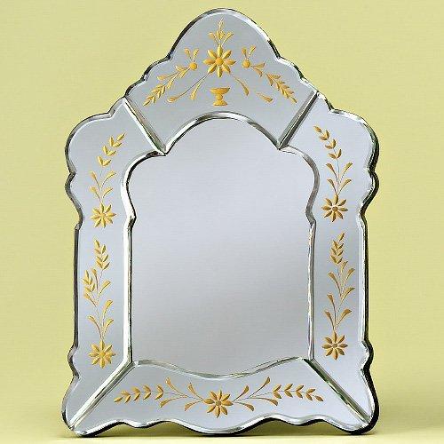 Crisselle Tabletop Venetian Mirror - 11W x 15H in.