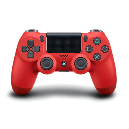Sony PlayStation 4 DualShock 4 Controller, Magma Red, (Ps4 Remote Play Windows 7 32 Bit)