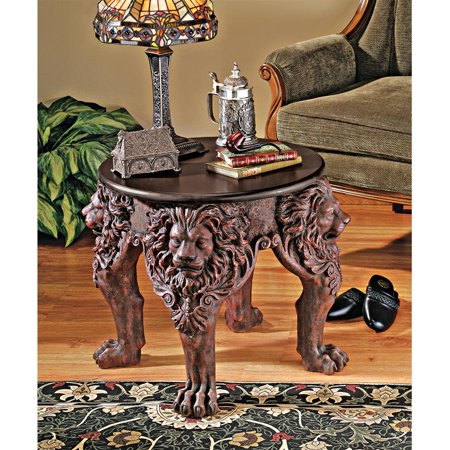 Lord raffles lion leg side table for Cie no 85 table 4