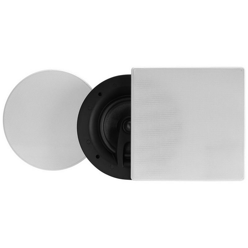 "Dayton Audio ME620C 6-1//2/"" Coaxial Ceiling Speaker Pair"
