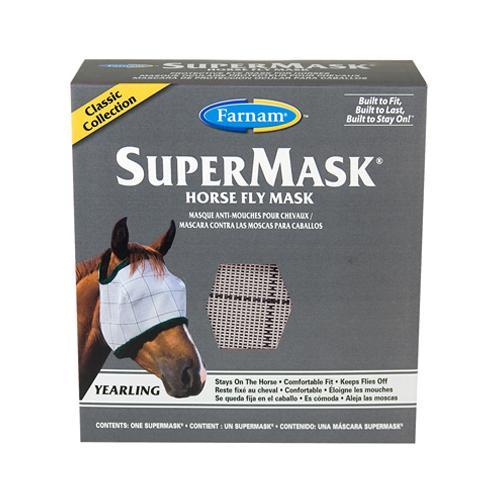 FARNAM HOME & GARDEN SuperMask II Horse Fly Mask, No Ear, Yearling