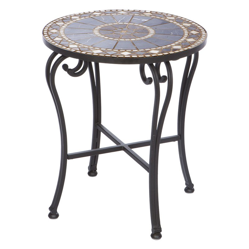 Alfresco Home Galileo Round Patio Side Table