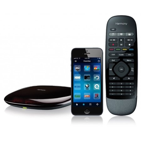 Logitech Harmony Smart Control with Smartphone App and Simple All in One Remote - Black Bulk Package Non Retail Box