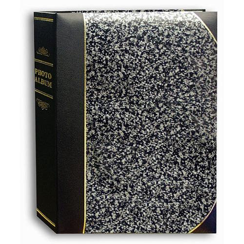 Pioneer Photo Albums Pioneer Silver Marble Ledger Cover 5x7 Bookstyle Bi-directional Memo Albums (Pack of 2)
