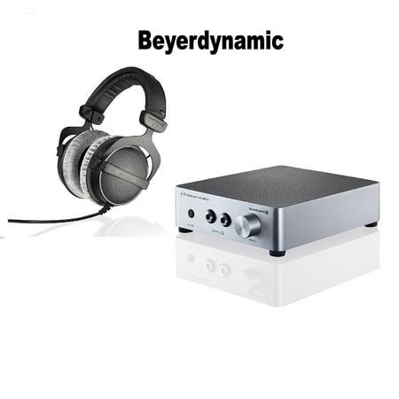 beyerdynamic dt 770 pro 250 ohms beyerdynamic a20 headphone amplifier silver bundle. Black Bedroom Furniture Sets. Home Design Ideas