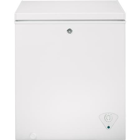 GE 5.0 Cu. Ft. Manual Defrost Chest Freezer (Chest Freezer Baskets Ge)