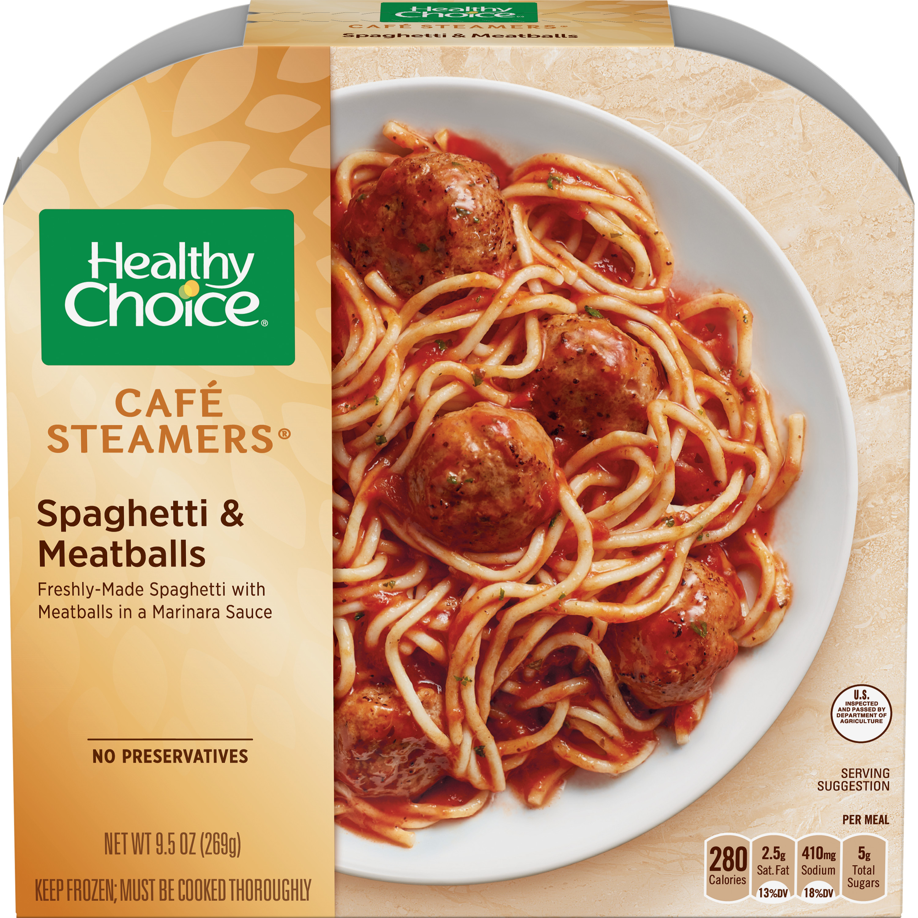 Healthy Choice Cafe Steamers Frozen