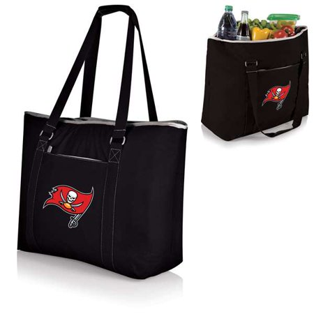 Tampa Bay Buccaneers - Tahoe Cooler Tote by Picnic Time (Black)