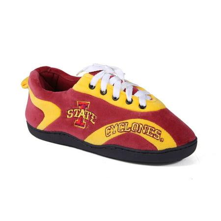 Happy Feet Mens and Womens Iowa State Cyclones - All Around Slippers - - Iowa State Cyclones Slippers