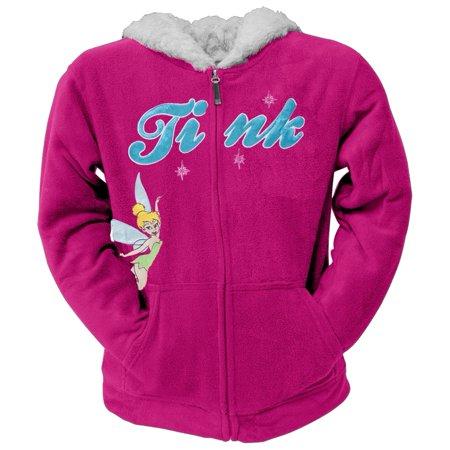 Tinkerbell - Pixie Lover Girls Youth Fleece Zip