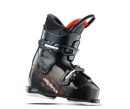 Alpina Boy's AJ2 Ski Boot 2018 Black 195 by Alpina