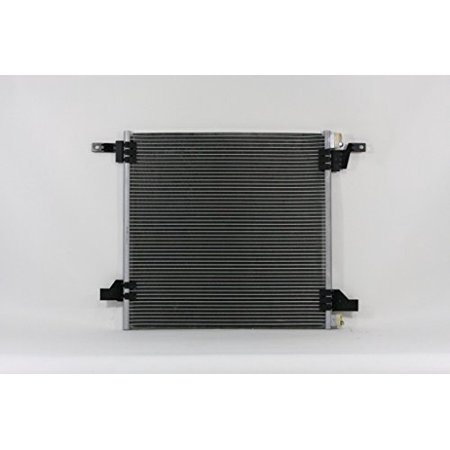 A-C Condenser - Pacific Best Inc For/Fit 3360 00-05 Mercedes-Benz W163 M-Class (exclude ML55) - WITH 2 BLOCK FITTINGS