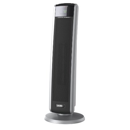 Lasko Digital Ceramic Tower Heater with Remote Control, 5586