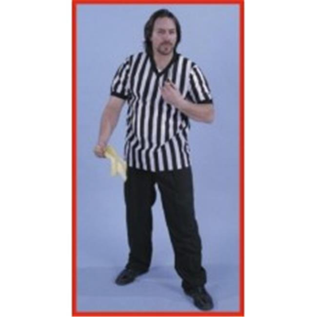 Alexander Costume 13-251 Referee V-Neck Shirt - Medium