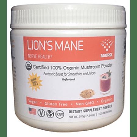 Mushroom Matrix - Lion's Mane (Hericium Erinaceua) 200 grams