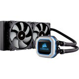 CORSAIR HYDRO SERIES H100i PRO RGB AIO Liquid CPU Cooler, 240mm Radiator, Dual