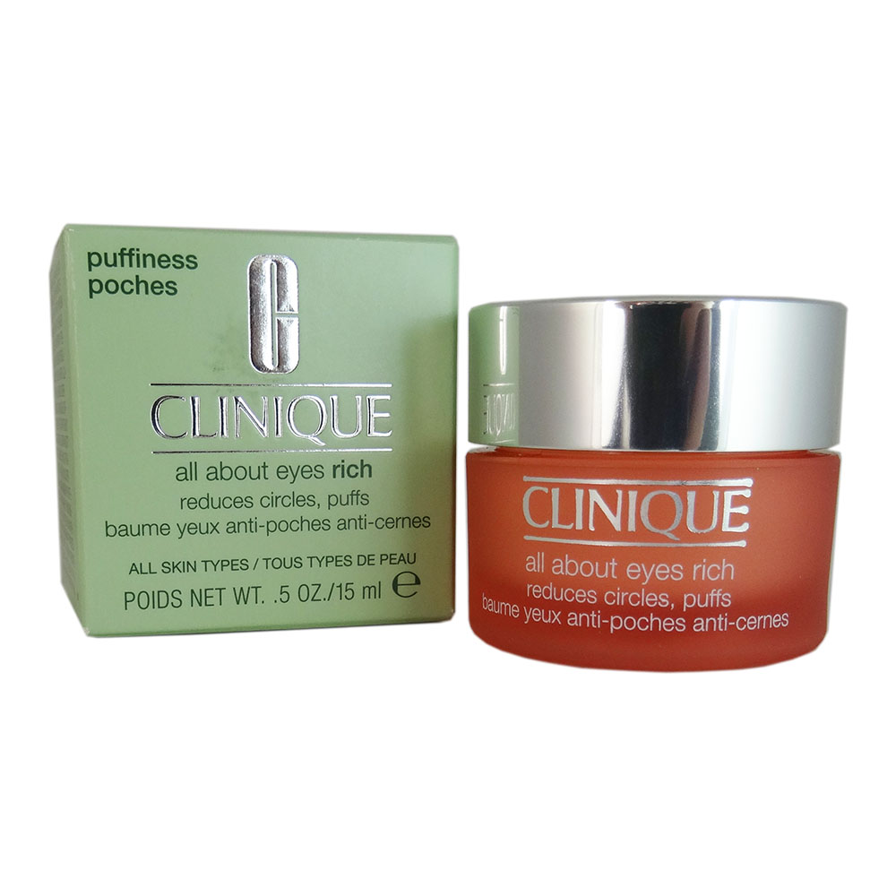 Clinique All about Eyes Rich 0.5 oz (all Skin Types0 - Walmart.com