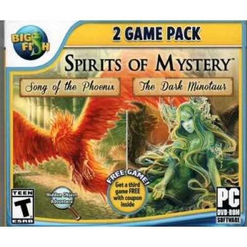 SPIRITS OF MYSTERY Hidden Object 2 GAME PACK: Song of the Phoenix + The Dark - The Dark Games