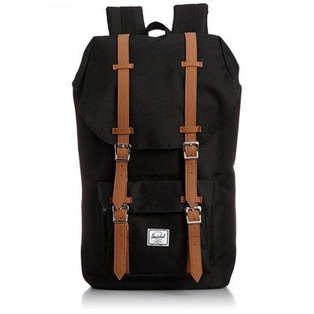 Little America Backpack, Black, One Size