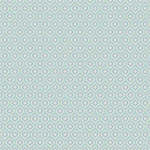 Waverly PR Rain Drop Glacier Fabric by the Yard